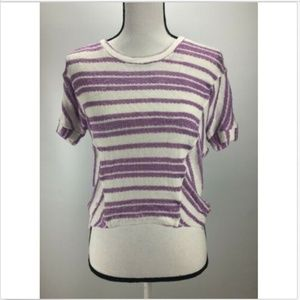 Splendid Women's Crop Top Size 12 Crewneck